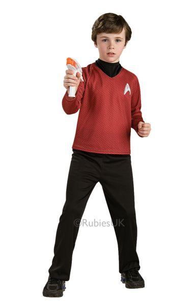 Star Trek Deluxe Red Shirt Boy's