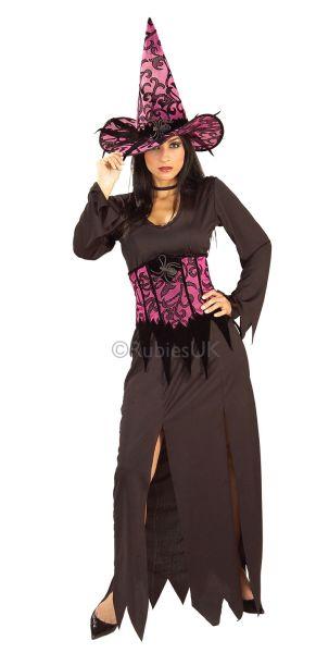 Elegant Witch Fancy Dress Costume