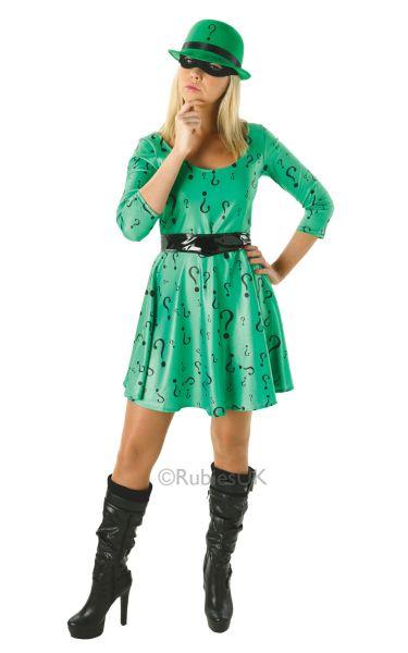 The Riddler Ladies Costume