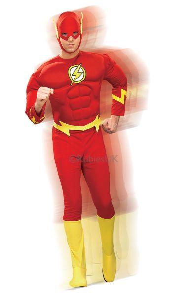 The Flash Fancy Dress Costume