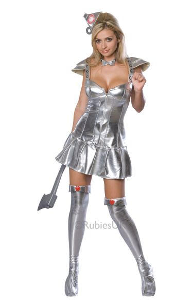 Tinwoman Fancy Dress Costume