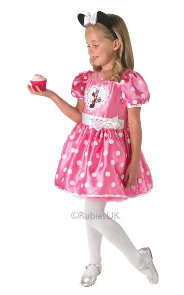 Disney Cupcake Pink Minnie Costume