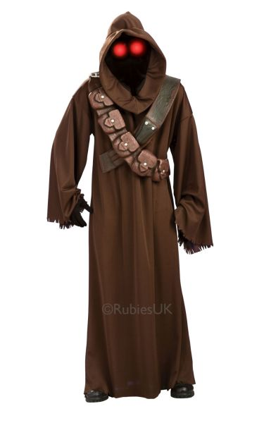 Adult Jawa Fancy Dress Costume
