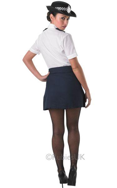 Policewoman Fancy Dress Costume