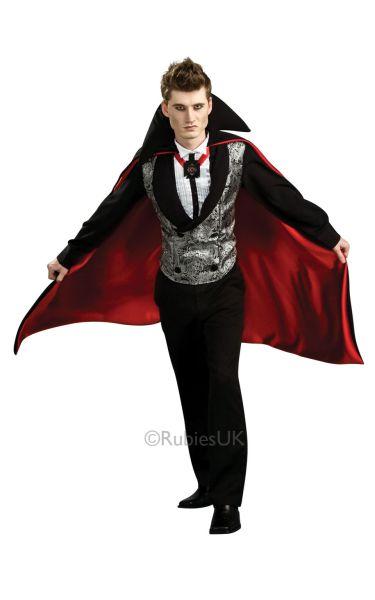 Nightfall Vampire Fancy Dress Costume