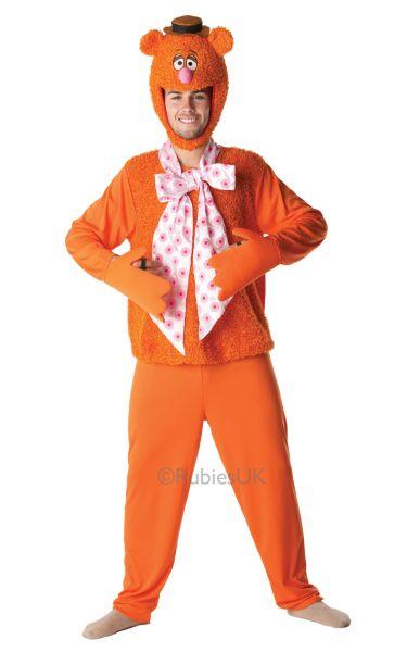 Fozzy Bear Fancy Dress Costume