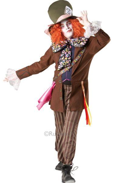 Licensed Wonderland Deluxe Mad Hatter Mens Costume