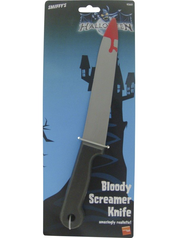 Bloody Screamer Knife