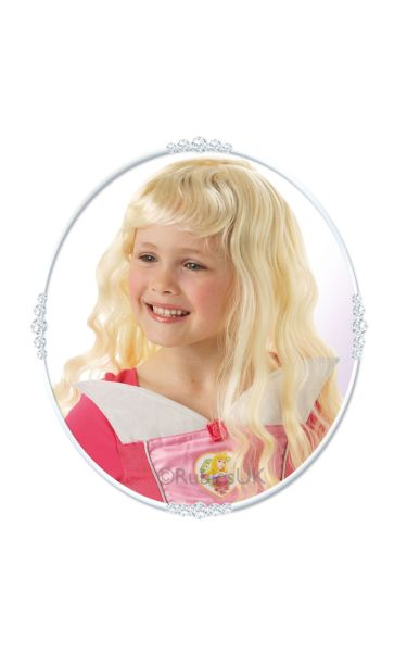 Sleeping Beauty Fancy Dress Wig