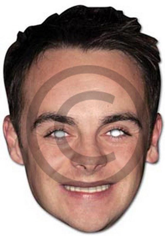 Ant McPartlin Cardboard Mask