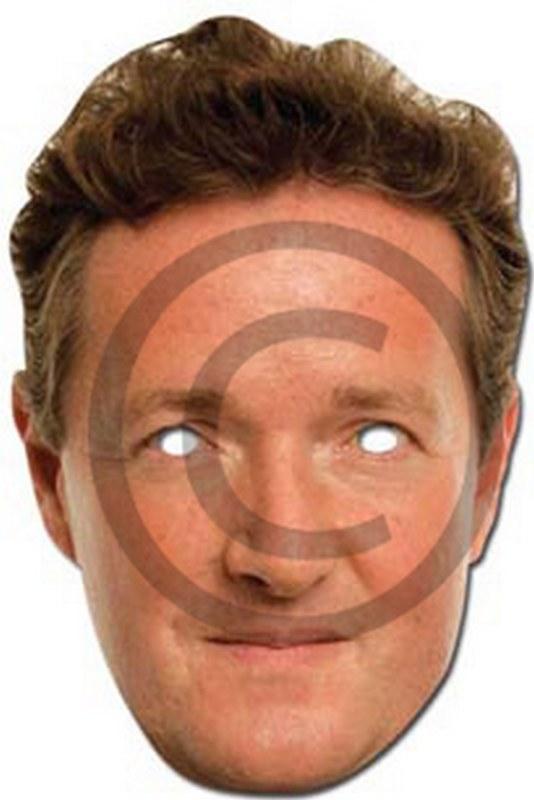 Piers Morgan Cardboard Mask