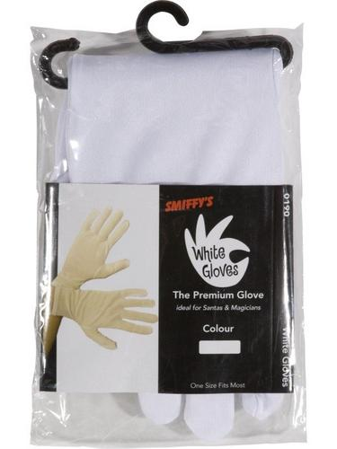 Adult White Gloves Thumbnail 3
