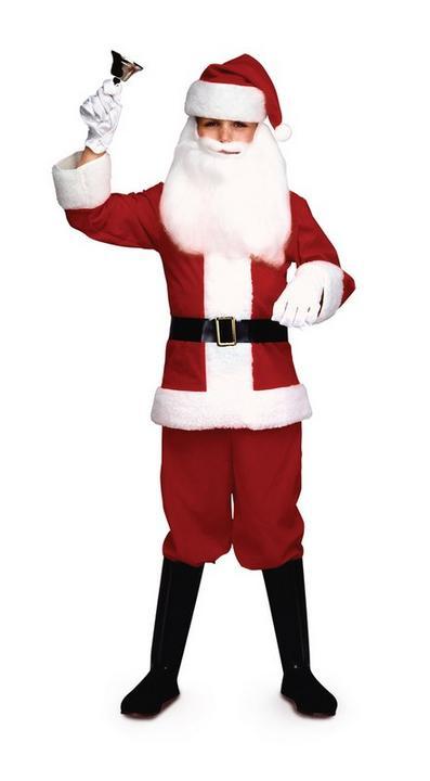 Boys Santa Costume Thumbnail 1