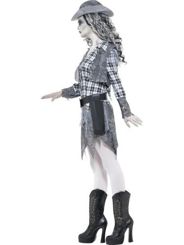Ghost Town Cowgirl Costume Thumbnail 3