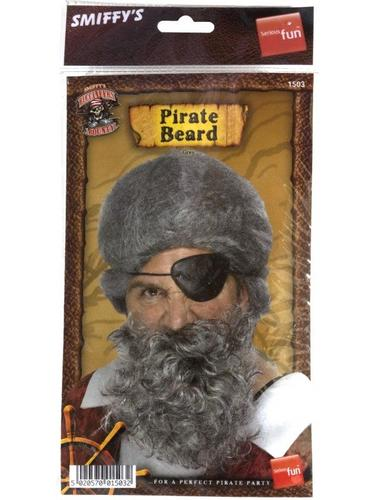 Pirate Beard Grey Thumbnail 2