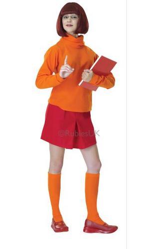 Velma Fancy Dress Costume Thumbnail 1