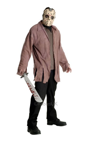 Jason Adult Fancy Dress Costume Thumbnail 1