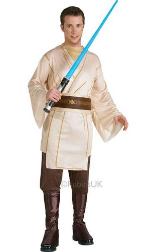 Jedi Knight Fancy Dress Costume Thumbnail 1