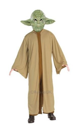 Yoda Fancy Dress Costume Thumbnail 1