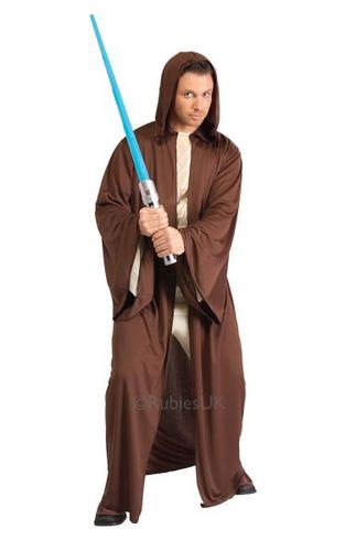 Basic Jedi Robe Fancy Dress Costume Thumbnail 1
