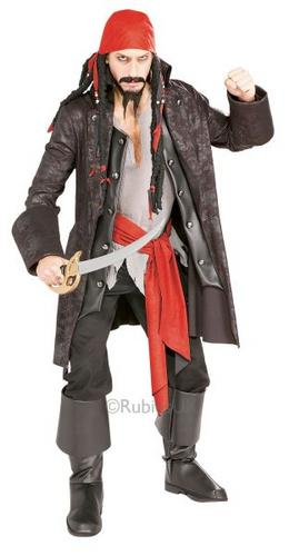 Pirate Captain Cutthroat Costume Thumbnail 1