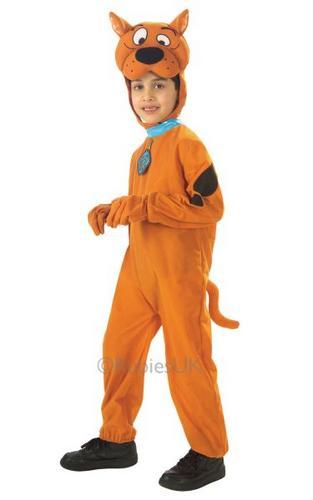 Kids Scooby Doo Fancy Dress Costume Boxed Thumbnail 1