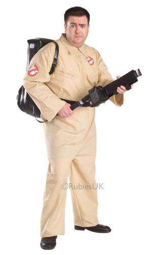 Plus Size Ghostbusters Fancy Dress Costume Thumbnail 1