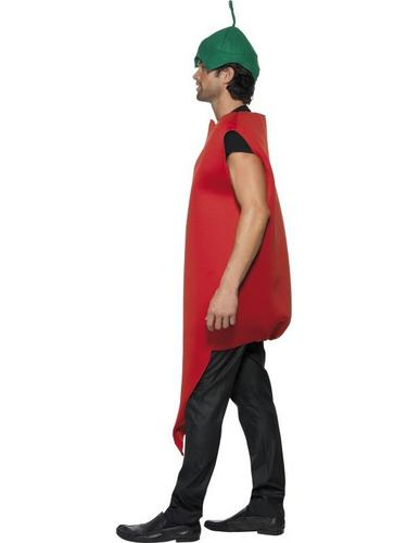 Chilli Pepper Fancy Dress Costume, Red Hot Thumbnail 3