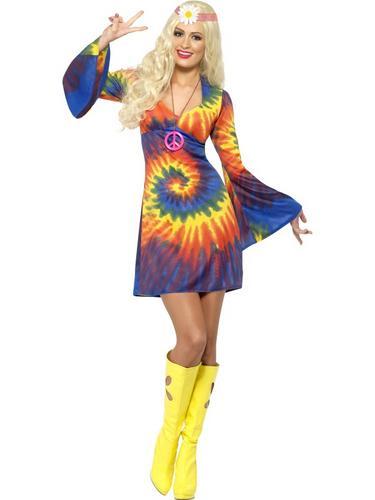 1960s Tie Dye Costume Thumbnail 1