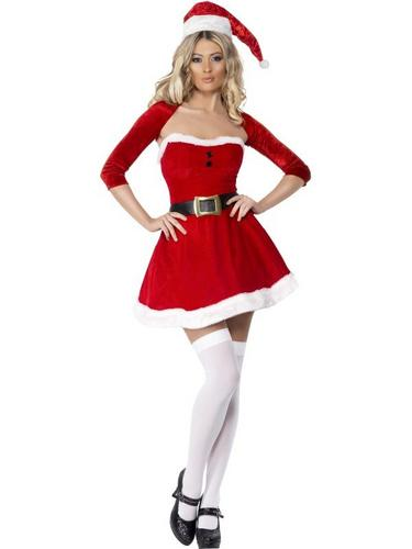 Santa Babe Fancy Dress Costume Thumbnail 1