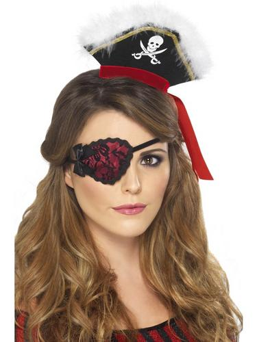 Pirate Eyepatch Red