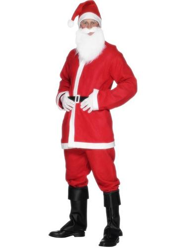 Bargain Santa Fancy Dress Costume Thumbnail 1