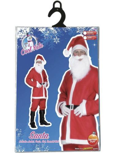 Bargain Santa Fancy Dress Costume Thumbnail 2