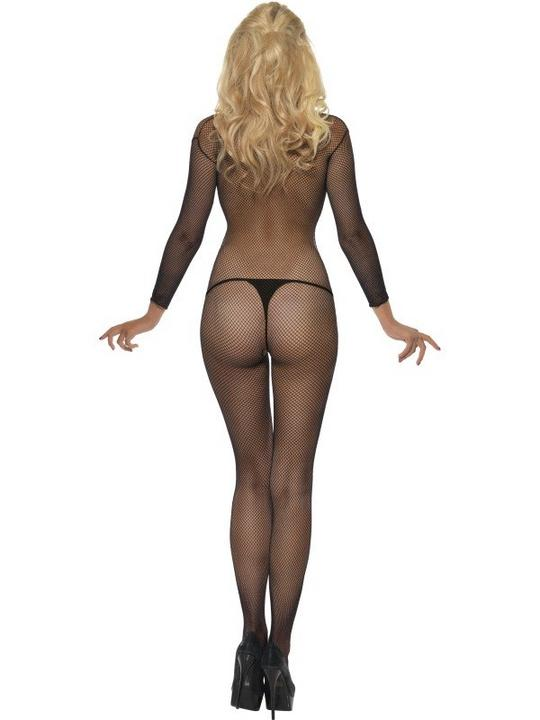 Fishnet Body Stocking Black Thumbnail 4