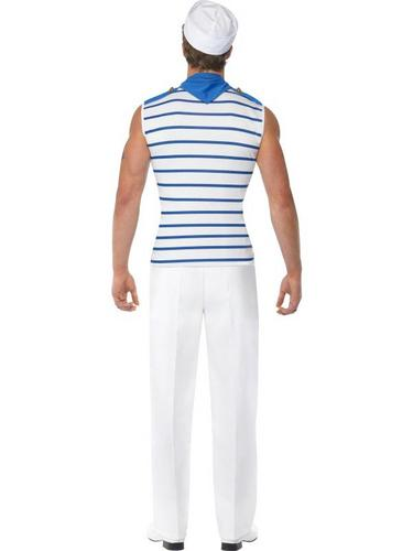 French Sailor Fancy Dress Costume Thumbnail 3