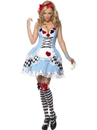 Miss Wonderland Fancy Dress Costume Thumbnail 1