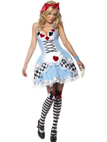 Miss Wonderland Fancy Dress Costume Thumbnail 2