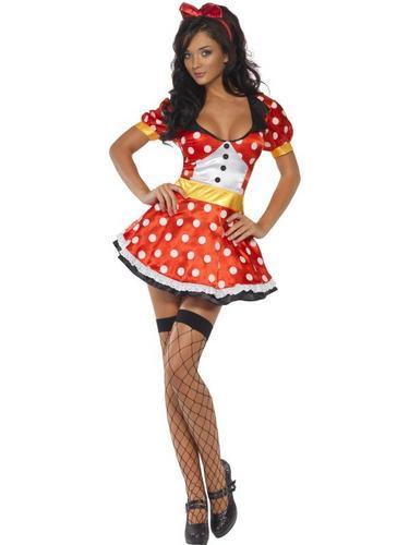 Miss Mouse Fancy Dress Costume Thumbnail 1