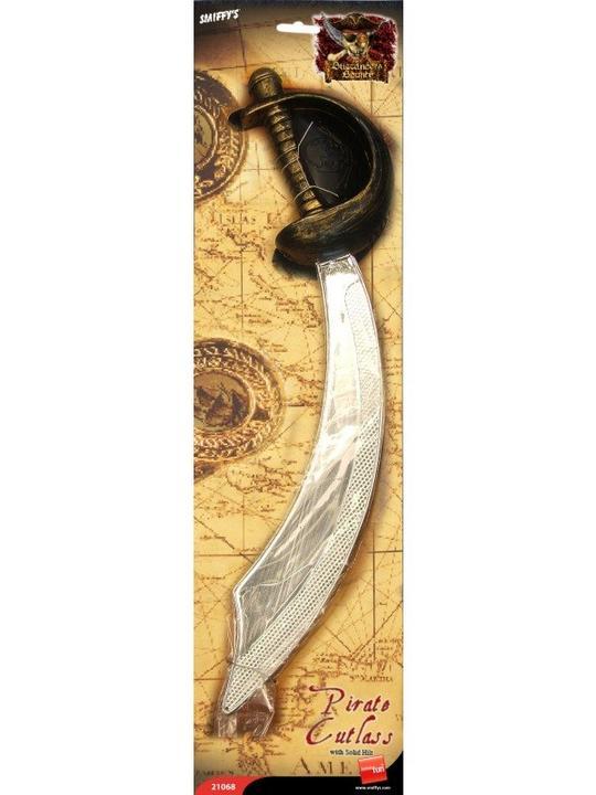 Pirate Sword Cutlass and Eyepatch Thumbnail 1