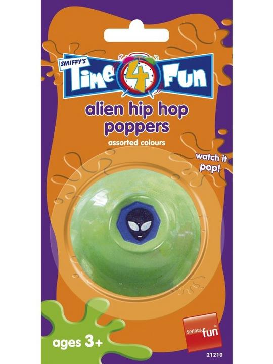 Alien Style Hip Hop Poppers, Assorted Colours Thumbnail 1