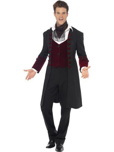 Male Fever Gothic Vamp Fancy Dress Costume Thumbnail 2
