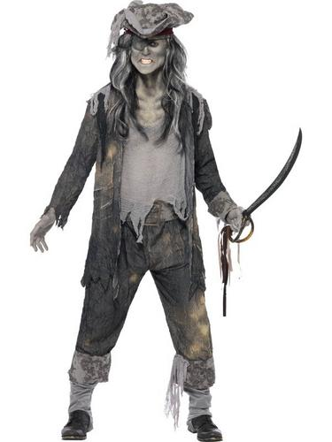 Ghost Ship Ghoul Fancy Dress Costume Thumbnail 1