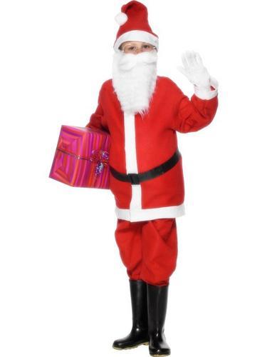 Boys Santa Fancy Dress Costume Thumbnail 2