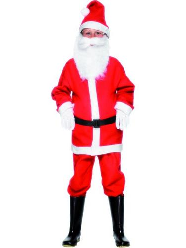 Boys Santa Fancy Dress Costume Thumbnail 3