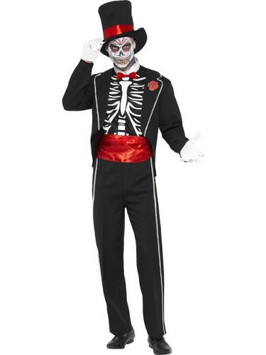 Day of the Dead Fancy Dress Costume Thumbnail 1