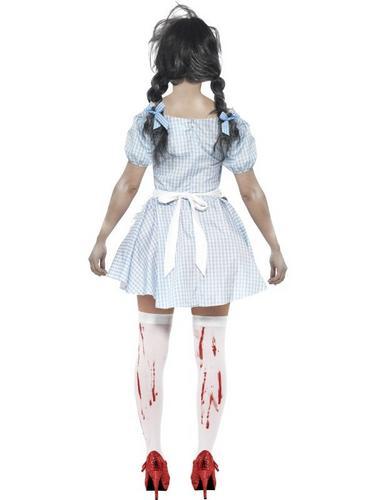 Horror Zombie Dorothy Fancy Dress Costume Thumbnail 2