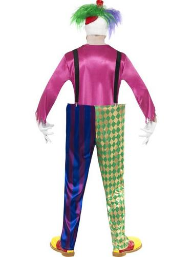 Kolorful Killer Klown Fancy Dress Costume Thumbnail 2