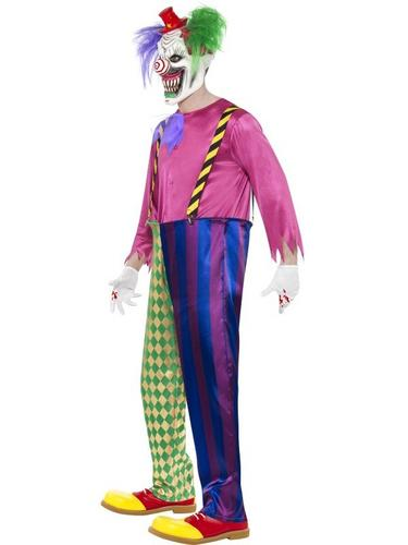 Kolorful Killer Klown Fancy Dress Costume Thumbnail 3