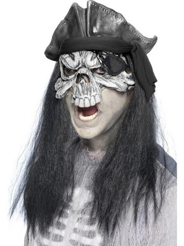 Haunted Swashbuckler Fancy Dress Mask Thumbnail 1