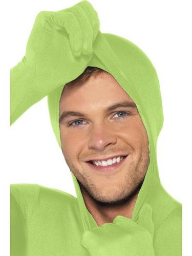 Green Second Skin Suit Fancy Dress Costume Thumbnail 2